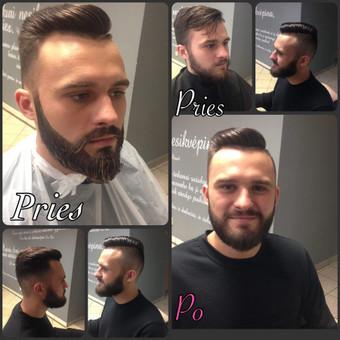 Vyriški kirpimai,barzdų modeliavimas,skutimas. / Loreta / Darbų pavyzdys ID 248003