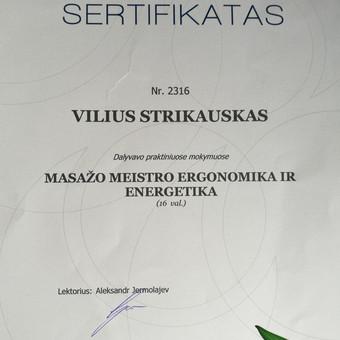 Masažo paslaugos Vilniuje / Vilius Strikauskas / Darbų pavyzdys ID 248415