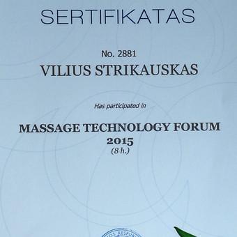 Masažo paslaugos Vilniuje / Vilius Strikauskas / Darbų pavyzdys ID 248417