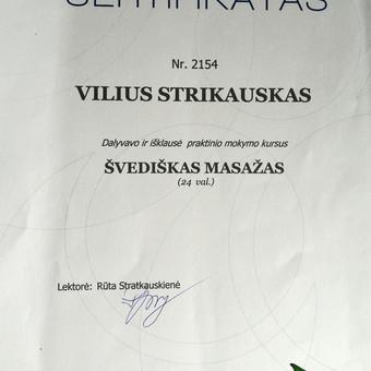 Masažo paslaugos Vilniuje / Vilius Strikauskas / Darbų pavyzdys ID 248419