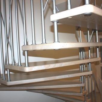 Laiptų gamyba ir projektavimas / UAB Wood Step / Darbų pavyzdys ID 248723