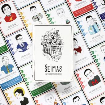 """Iliustracijos kurtos lietuviškam satyros žaidimui """"Šeimas"""". Užduotis buvo sukurti kiekvieną charakterį, pagal duotą aprašymą, išlaikant būdingus realiam žmogui bruožus.  73 personažai/ ..."""