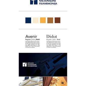 Logotipo atnaujinimas ir firminis stilius / Updated logo and corporate identity   Lietuvos nacionalinė filharmonija / Lithuanian National Philharmonic Society