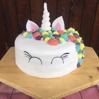 5 gaimtadienio tortas vienaragis