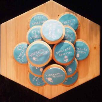 Sausainiai krikštynoms