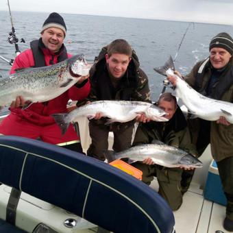 Žvejybinės išvykos į Baltijos jūrą bei Kuršių marias / Raimondas Venckus / Darbų pavyzdys ID 251609