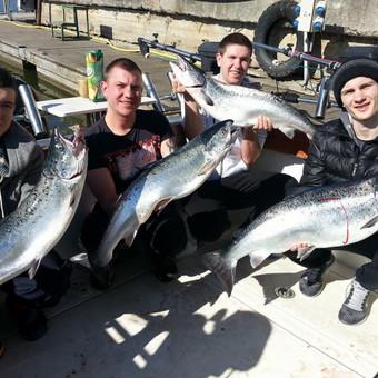 Žvejybinės išvykos į Baltijos jūrą bei Kuršių marias / Raimondas Venckus / Darbų pavyzdys ID 251611