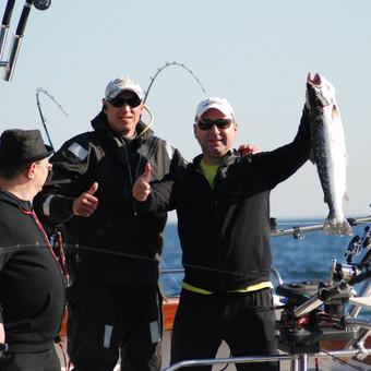 Žvejybinės išvykos į Baltijos jūrą bei Kuršių marias / Raimondas Venckus / Darbų pavyzdys ID 251639