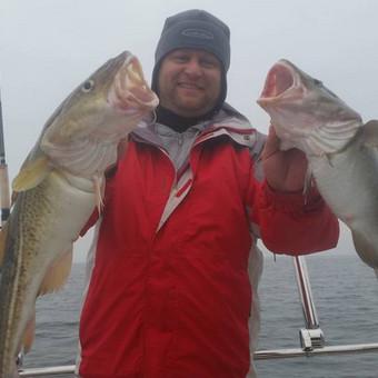 Žvejybinės išvykos į Baltijos jūrą bei Kuršių marias / Raimondas Venckus / Darbų pavyzdys ID 251655