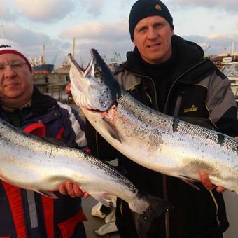 Žvejybinės išvykos į Baltijos jūrą bei Kuršių marias / Raimondas Venckus / Darbų pavyzdys ID 251663