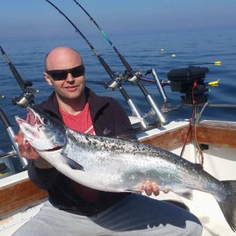 Žvejybinės išvykos į Baltijos jūrą bei Kuršių marias / Raimondas Venckus / Darbų pavyzdys ID 251671