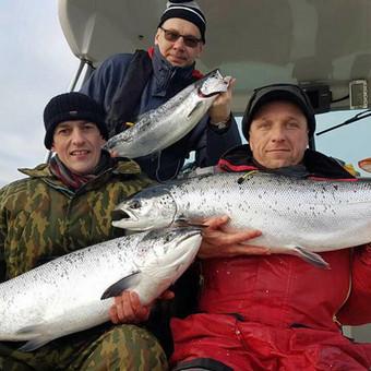 Žvejybinės išvykos į Baltijos jūrą bei Kuršių marias / Raimondas Venckus / Darbų pavyzdys ID 251683