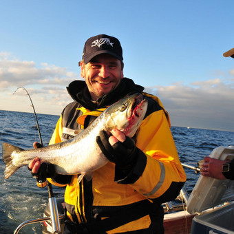 Žvejybinės išvykos į Baltijos jūrą bei Kuršių marias / Raimondas Venckus / Darbų pavyzdys ID 251691