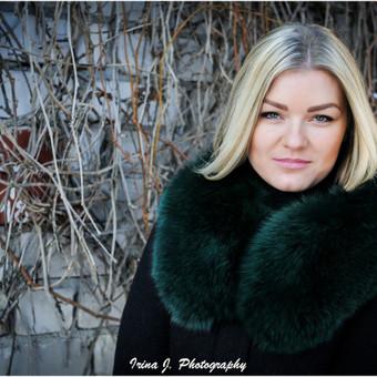 Kailiai - klientas pageidavo žiemos nuotaikos, lengvai, paprastai ir truputis spalvų.