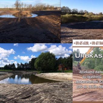 Tvenkinių prudu kasimas. August ir ko nuotekų įrenginiai / Uab Urbkasa / Darbų pavyzdys ID 253301
