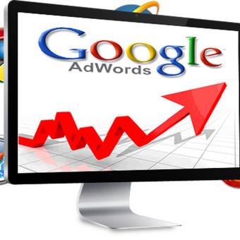 Google adwords reklaminių kampanijų kūrimas/optimizacija