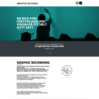 Graphic Recorder - įmonė siūlanti iliustravimo paslaugas, kurių tikslas, taikliau ir produktyviau apibrėžti ateities planus ir veiklos sistemingumą. http://graphicrecorder.se