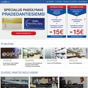 """""""Eagle Vision"""" optikos salonų tinklas, kuris Lietuvos gyventojų regėjimu rūpinasi nuo 1992 metų. http://eaglevision.lt"""