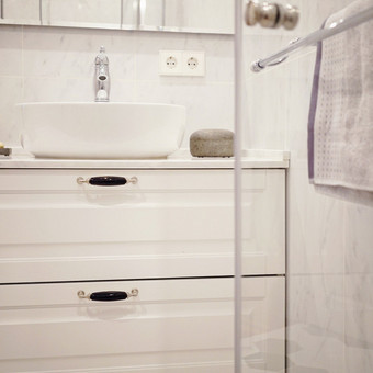 Vonios interjero fragmentas