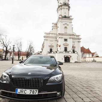 Automobilių nuoma / BMW 750IL JUODAS / Darbų pavyzdys ID 256079