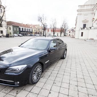 Automobilių nuoma / BMW 750IL JUODAS / Darbų pavyzdys ID 256089