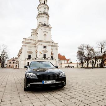 Automobilių nuoma / BMW 750IL JUODAS / Darbų pavyzdys ID 256095