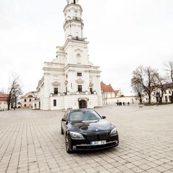 Automobilių nuoma / BMW 750IL JUODAS / Darbų pavyzdys ID 256097