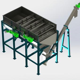 Floatacinė vonia (3D modelis, Solidworks)
