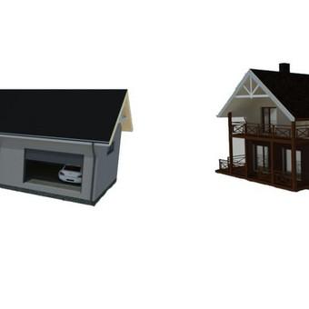 Architektas, projektavimas / Mindaugas Stropus / Darbų pavyzdys ID 257115
