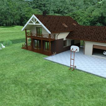 Architektas, projektavimas / Mindaugas Stropus / Darbų pavyzdys ID 257119