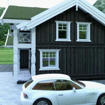 Architektas, projektavimas / Mindaugas Stropus / Darbų pavyzdys ID 257139