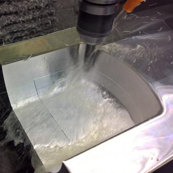 3D formos iš aliuminio frezavimas