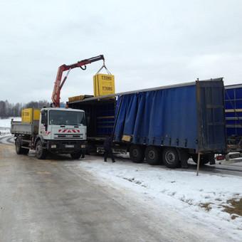 Krovinių pervežimas / Povilas / Darbų pavyzdys ID 258523