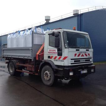 Krovinių pervežimas / Povilas / Darbų pavyzdys ID 258529