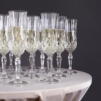 Įvairios paslaugos vestuvėms Vilniuje / PuikiMintis Šampano staliukas / Darbų pavyzdys ID 259609