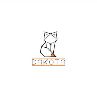 """Logotipai internetinei parduotuvei """"Dakota"""" pardavinėjančiai odos aksesuarus. Klientas pageidavo, kad logotipe atsispindėtu vakarietiška, šiaurietiška dvasia. Minimalistinis dizainas su augalo, ..."""