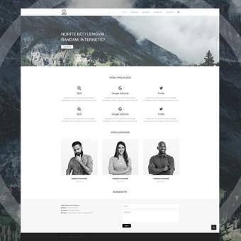 Interneto svetainių dizaineris / Skirmantė / Darbų pavyzdys ID 262635