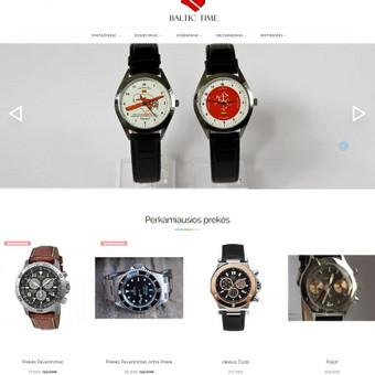 Internetinių svetainių | El-parduotuvių kūrimas Jūsų mieste / Jonas Urbonas / Darbų pavyzdys ID 264151