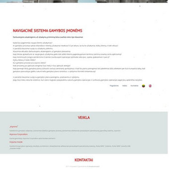 #1 Interneto svetainių, bei parduotuvių kūrimas,  SEO / Jonas Urbonas / Darbų pavyzdys ID 264159
