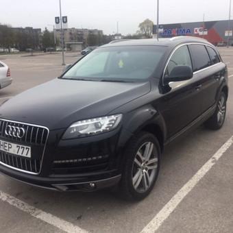Audi Q7 nuoma šventėms / Erika Paišienė / Darbų pavyzdys ID 267131