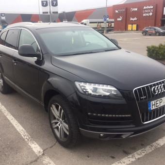 Audi Q7 nuoma šventėms / Erika Paišienė / Darbų pavyzdys ID 267133