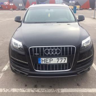Audi Q7 nuoma šventėms / Erika Paišienė / Darbų pavyzdys ID 267135