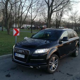 Audi Q7 nuoma šventėms / Erika Paišienė / Darbų pavyzdys ID 267139