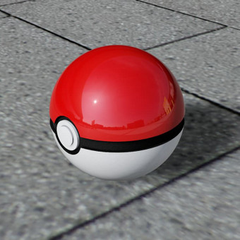 PokeBall (3D spausdinimas)