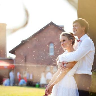 Romantiška vestuvių fotografija