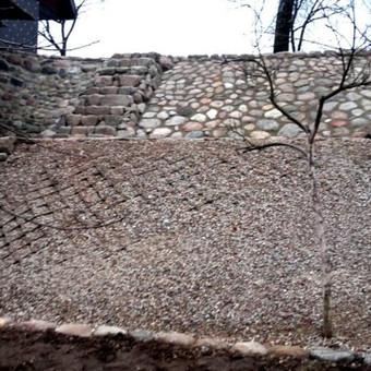 Akmens mūro darbai, Šlaitų ir pakrančių tvirtinimas.Atramine / Saulius / Darbų pavyzdys ID 268417