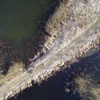 Fotografavimas iš drono.