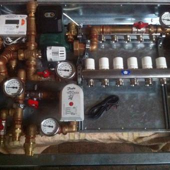 """Grindų šildymo su apskaita automatinė sistema - sprendimas lofto gyventojui. Visa sistema sukūrta nuo """"nulio"""""""