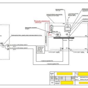 Elektros projektuotojas / Vilius Lava / Darbų pavyzdys ID 269145