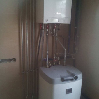 Santechnika, šildymas,vandentiekis-kanalizacija,vedinimas / Nerijus / Darbų pavyzdys ID 269457
